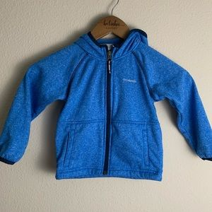 Columbia Toddler  full zip hooded jacket 3T A45